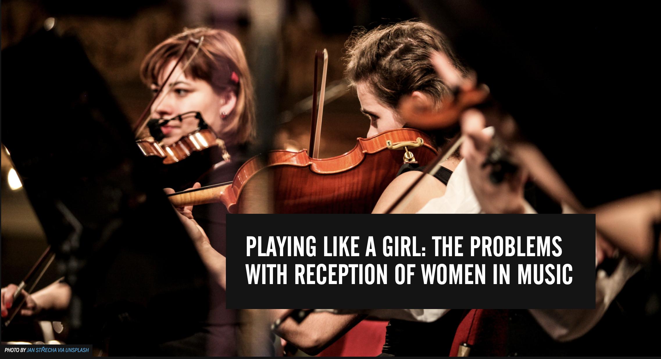Play Like A Girl Header Image