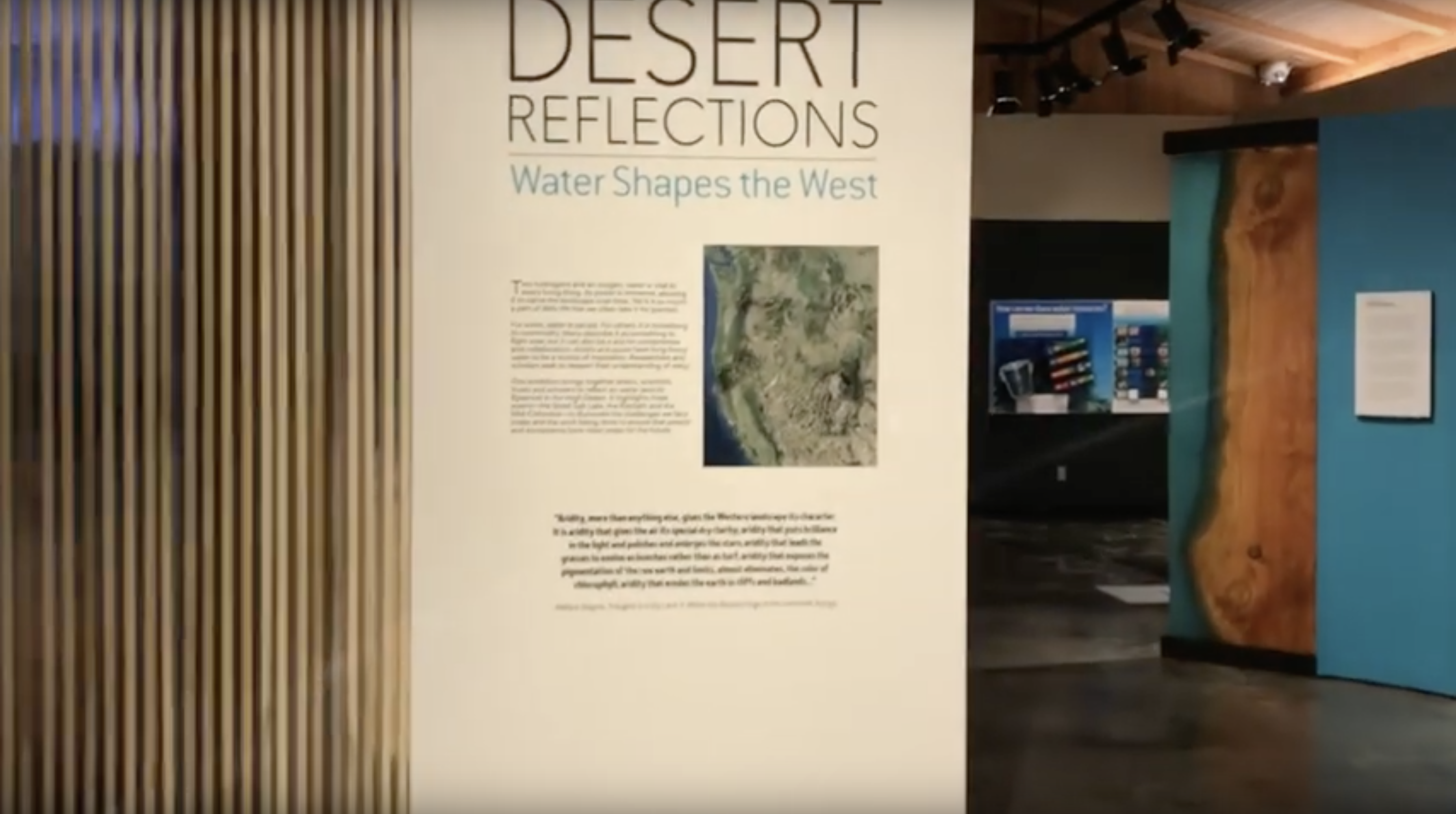 series Desert Reflections: Water Shapes the West