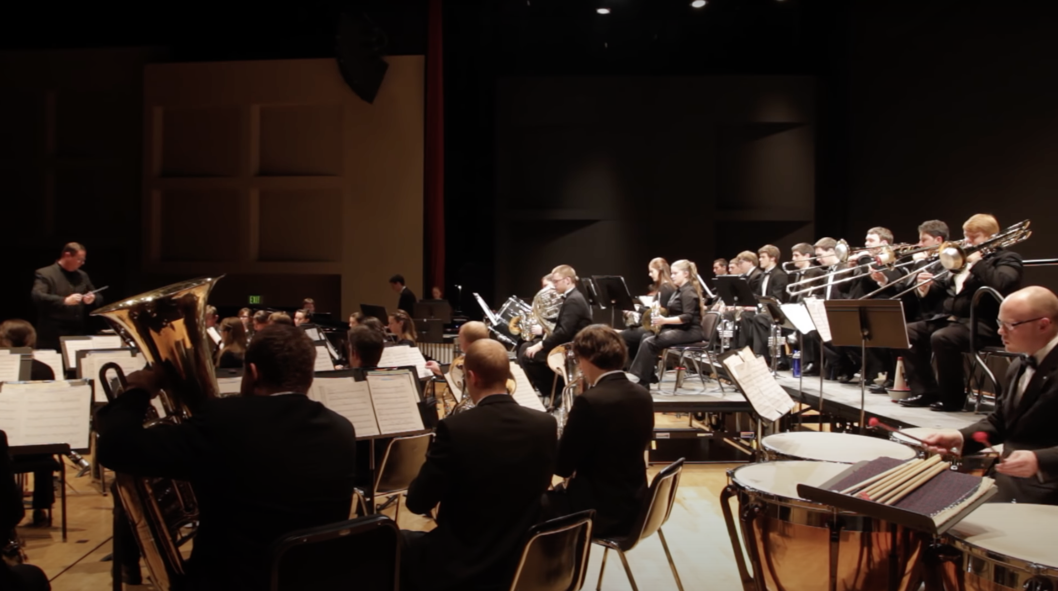"""OSU Wind Ensemble performs """"Currents"""" by Dr. Dana Reason"""
